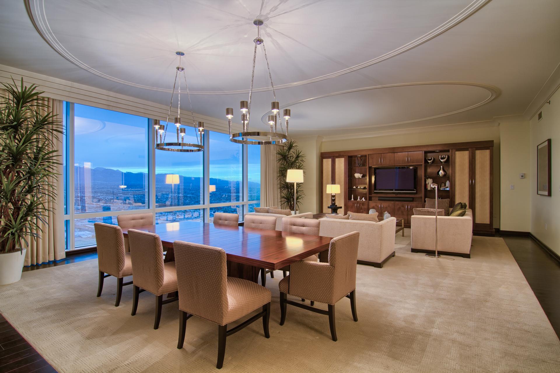 Trump Hotel Las Vegas 2000 Fashion Show Dr Las Vegas Nv 89109 Suite 6108 Luxury Homes Photography