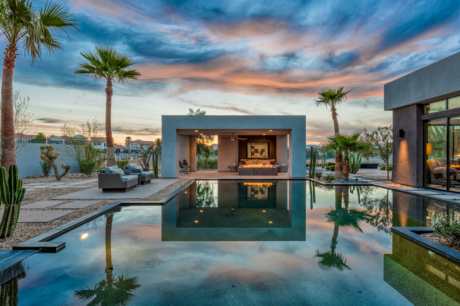 Photography portfolio luxury homes photography for Blue house builders